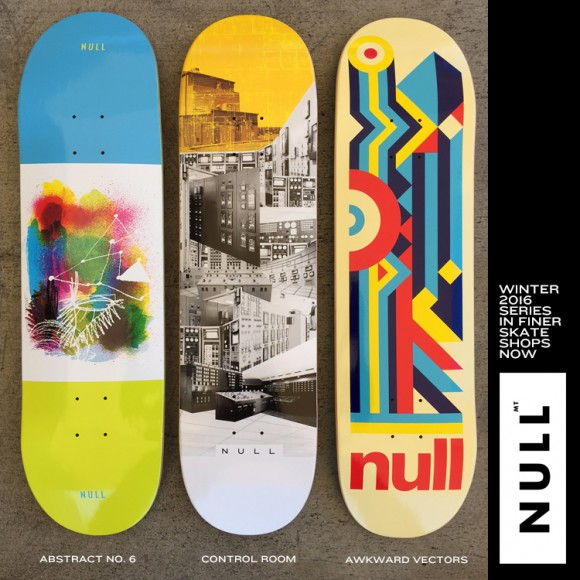 null skateboards winter 2016 series
